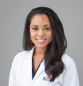 Ebony Hilton, M.D. headshot, Women for Women Summit presented by the College of Charleston School of Business