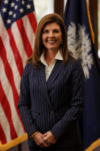Headshot of Lt. Governor Pamela Evette, College of Charleston School of Business Women for Women Summit